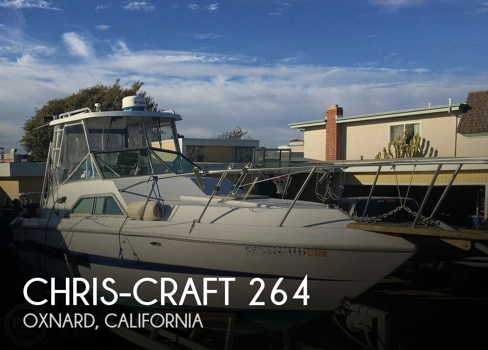 1982 Chris Craft boat for sale, model of the boat is Scorpion 264 & Image # 1 of 40