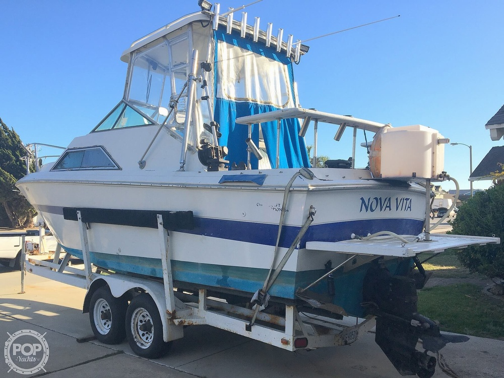 1982 Chris Craft boat for sale, model of the boat is Scorpion 264 & Image # 3 of 40