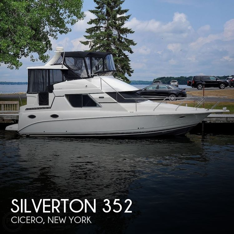 Used Boats For Sale in Syracuse, New York by owner | 2000 Silverton 352 Motor Yacht