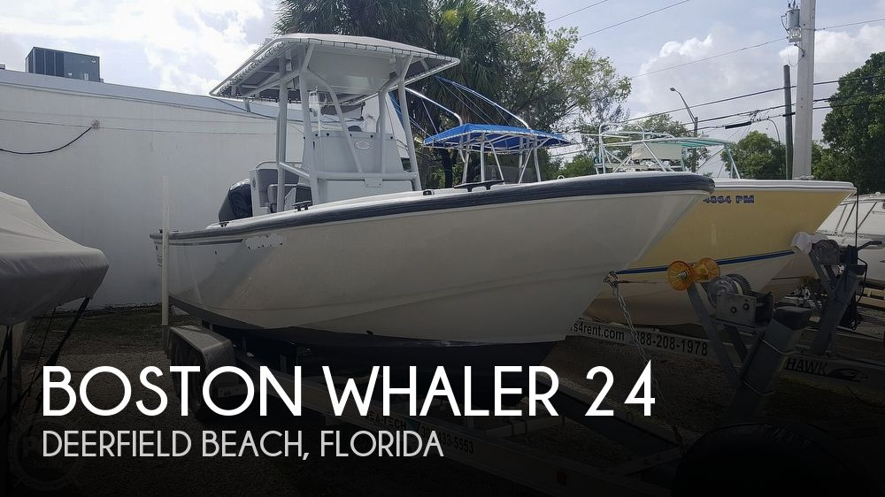Used Boston Whaler Boats For Sale by owner | 2018 Boston Whaler Justice 24