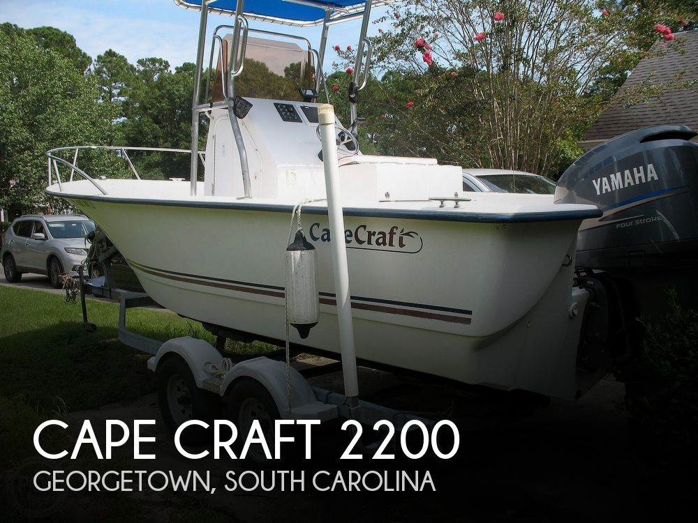2007 Cape Craft boat for sale, model of the boat is 2200 & Image # 1 of 41