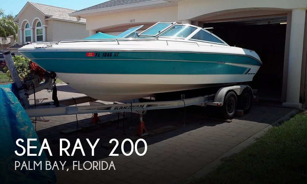 Used Sea Ray signature Boats For Sale by owner | 1995 Sea Ray Signature 200