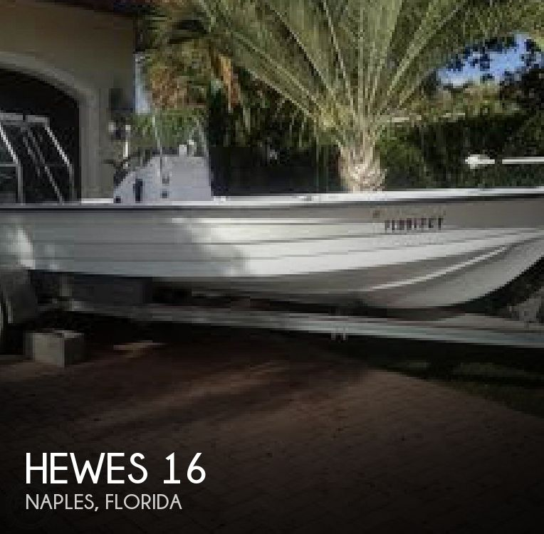 1977 Hewes boat for sale, model of the boat is 16 & Image # 1 of 9