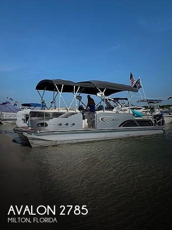 Used Avalon Boats For Sale by owner | 2012 Avalon 2785 Ambassador