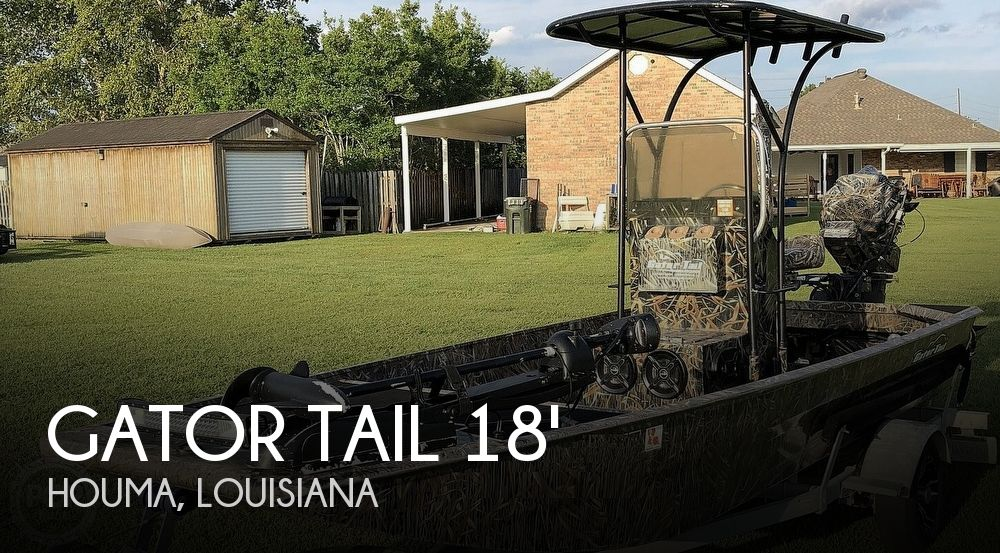 Used Gator Tail Boats For Sale in Louisiana by owner | 2013 18 foot Gator Tail Gator Tail Extreme