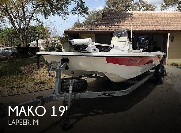 Used MAKO Boats For Sale in Michigan by owner | 2017 Mako 19