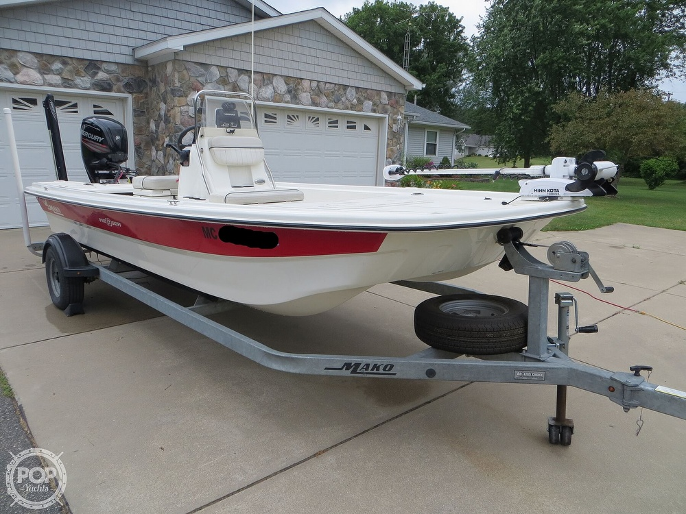 2017 Mako boat for sale, model of the boat is Pro Skiff 19 CC & Image # 12 of 40