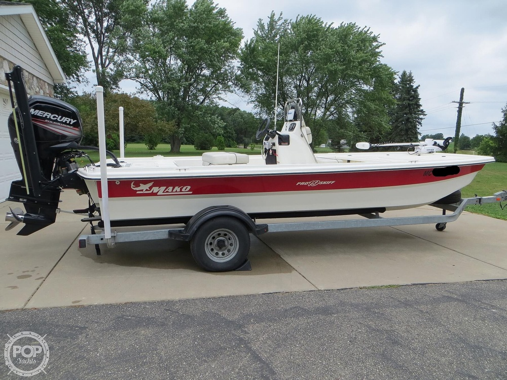 2017 Mako boat for sale, model of the boat is Pro Skiff 19 CC & Image # 14 of 40