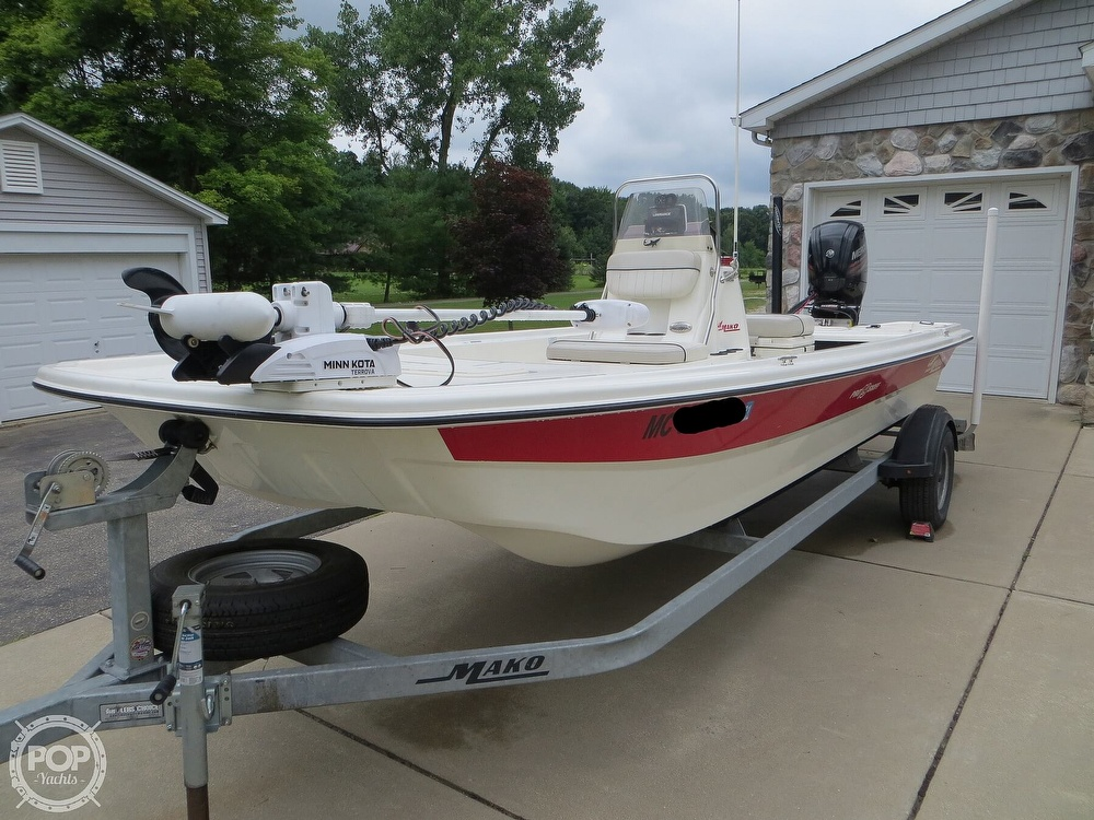 2017 Mako boat for sale, model of the boat is Pro Skiff 19 CC & Image # 20 of 40