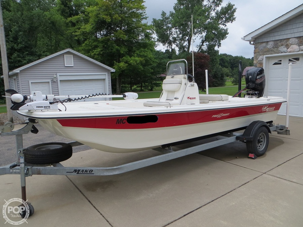2017 Mako boat for sale, model of the boat is Pro Skiff 19 CC & Image # 21 of 40