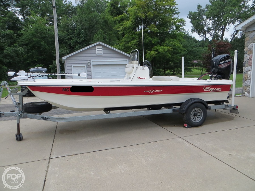 2017 Mako boat for sale, model of the boat is Pro Skiff 19 CC & Image # 22 of 40