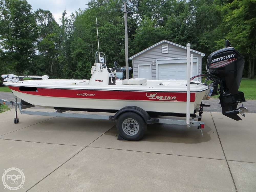 2017 Mako boat for sale, model of the boat is Pro Skiff 19 CC & Image # 23 of 40