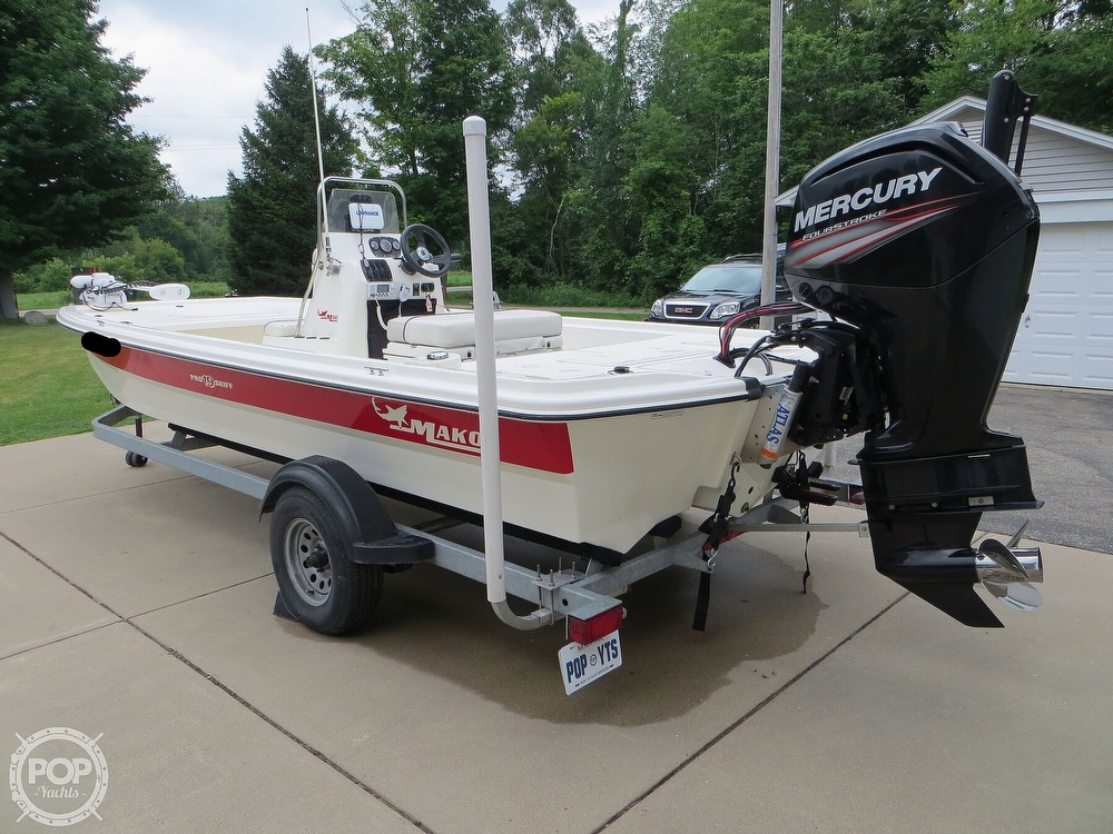 2017 Mako boat for sale, model of the boat is Pro Skiff 19 CC & Image # 24 of 40