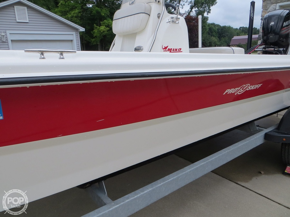 2017 Mako boat for sale, model of the boat is Pro Skiff 19 CC & Image # 34 of 40