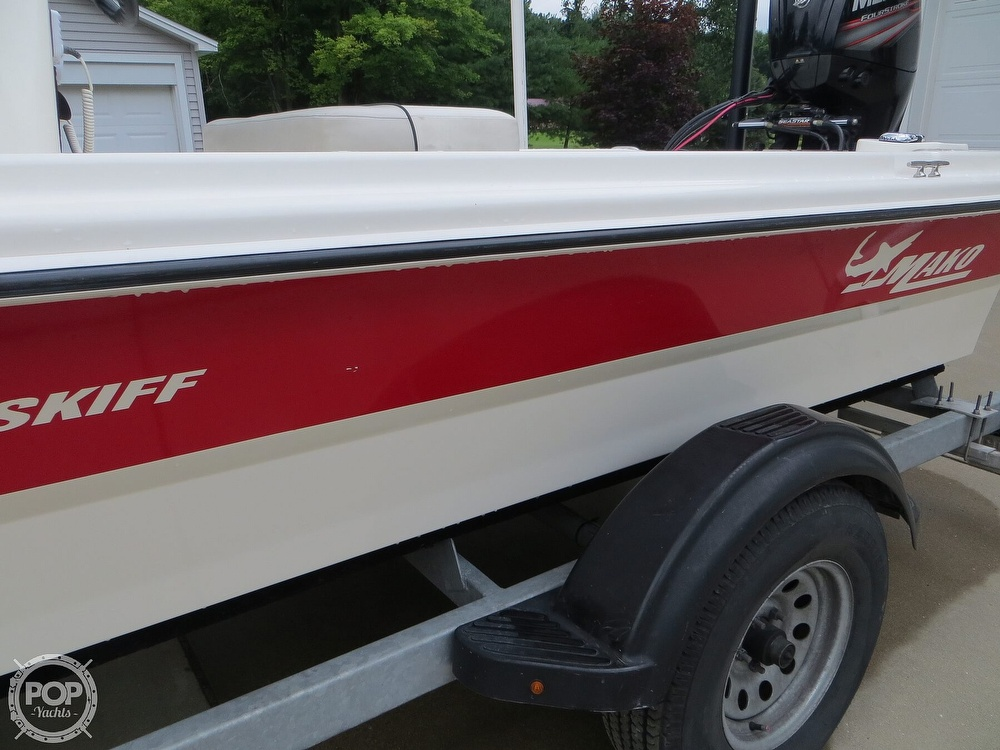 2017 Mako boat for sale, model of the boat is Pro Skiff 19 CC & Image # 35 of 40