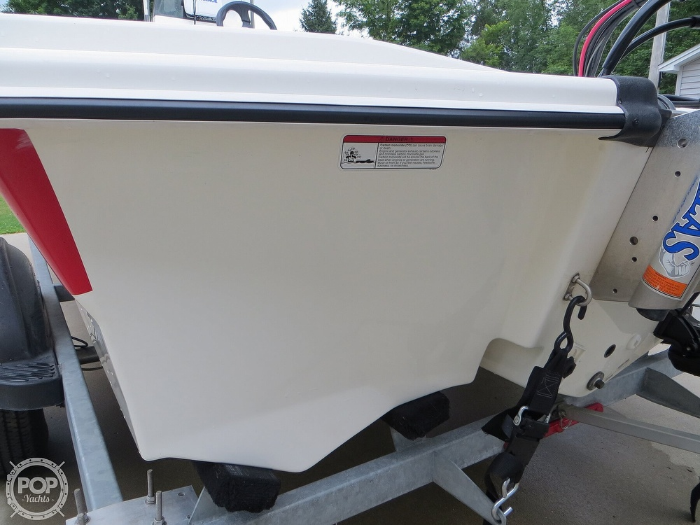 2017 Mako boat for sale, model of the boat is Pro Skiff 19 CC & Image # 37 of 40