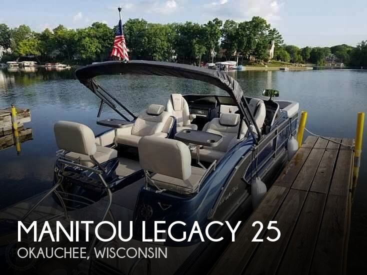 Used Boats For Sale in Madison, Wisconsin by owner | 2017 Manitou Legacy 25