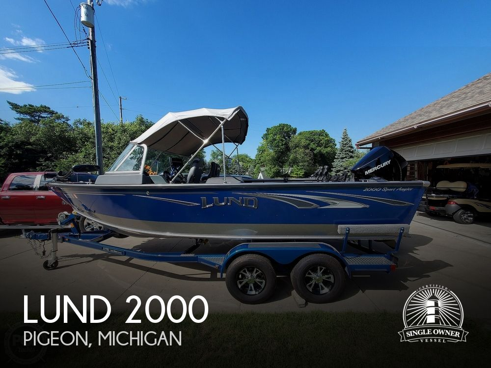 Used Fishing boats For Sale in Michigan by owner | 2019 Lund 2000 Sport Angler