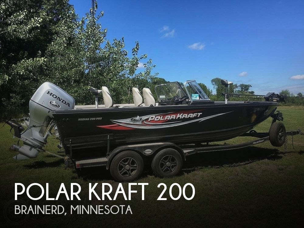 Used Polar Kraft Boats For Sale by owner | 2016 Polar Kraft Kodiak 200 Pro
