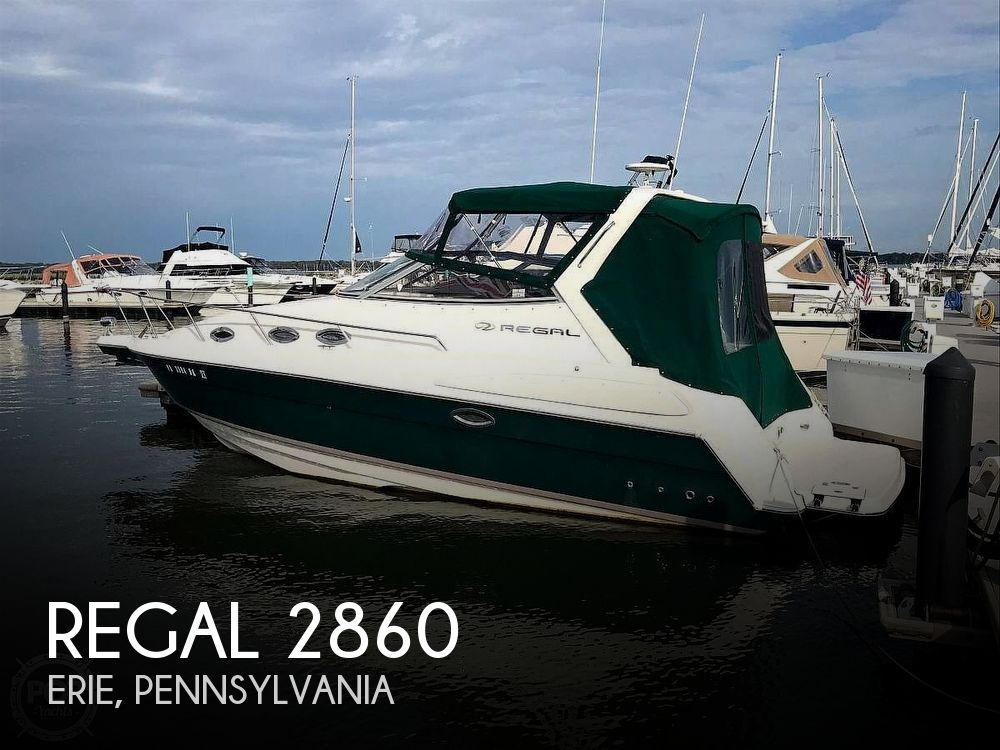 Used Regal Boats For Sale in Pennsylvania by owner | 2004 Regal 2860 Commodore