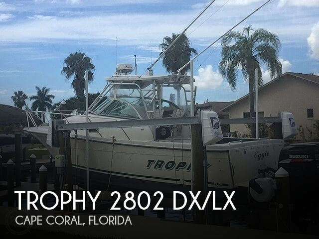 Used Trophy Boats For Sale by owner | 2000 Trophy 2802 DX/LX