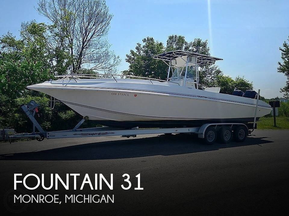 Used Fountain 31 Center Console Boats For Sale in Michigan by owner | 1996 Fountain 31 Center Console