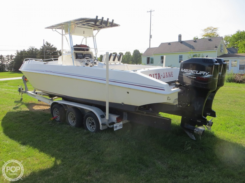 1996 Fountain boat for sale, model of the boat is 31 Center Console & Image # 3 of 40