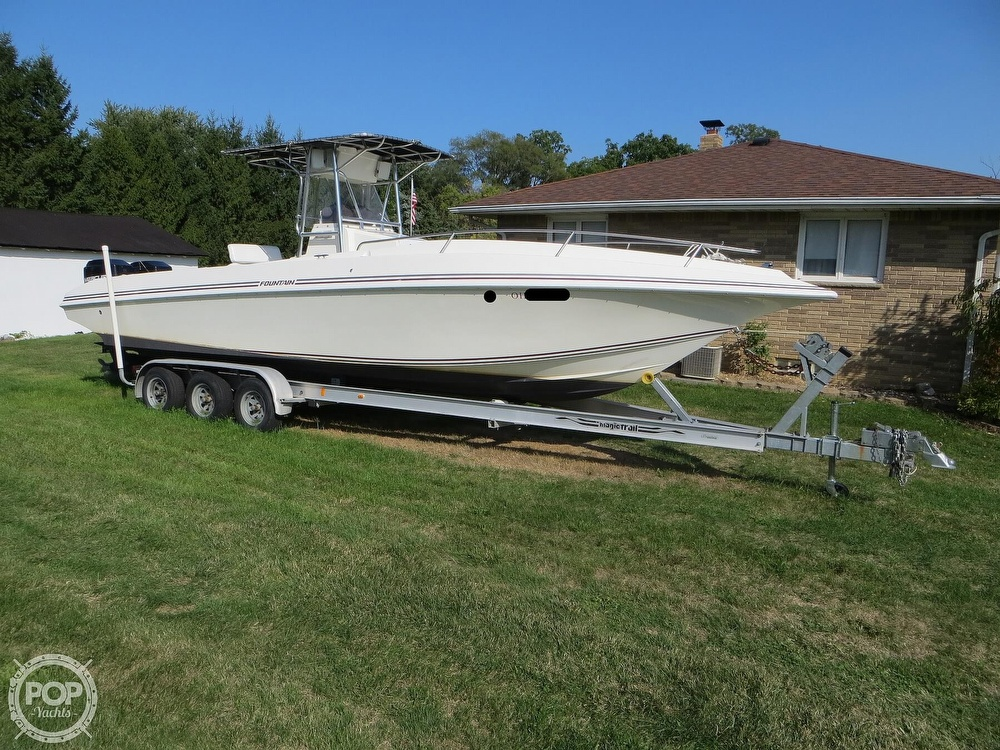 1996 Fountain boat for sale, model of the boat is 31 Center Console & Image # 13 of 40