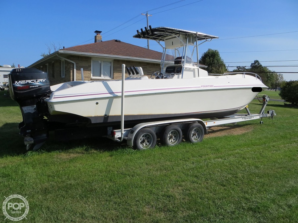 1996 Fountain boat for sale, model of the boat is 31 Center Console & Image # 17 of 40