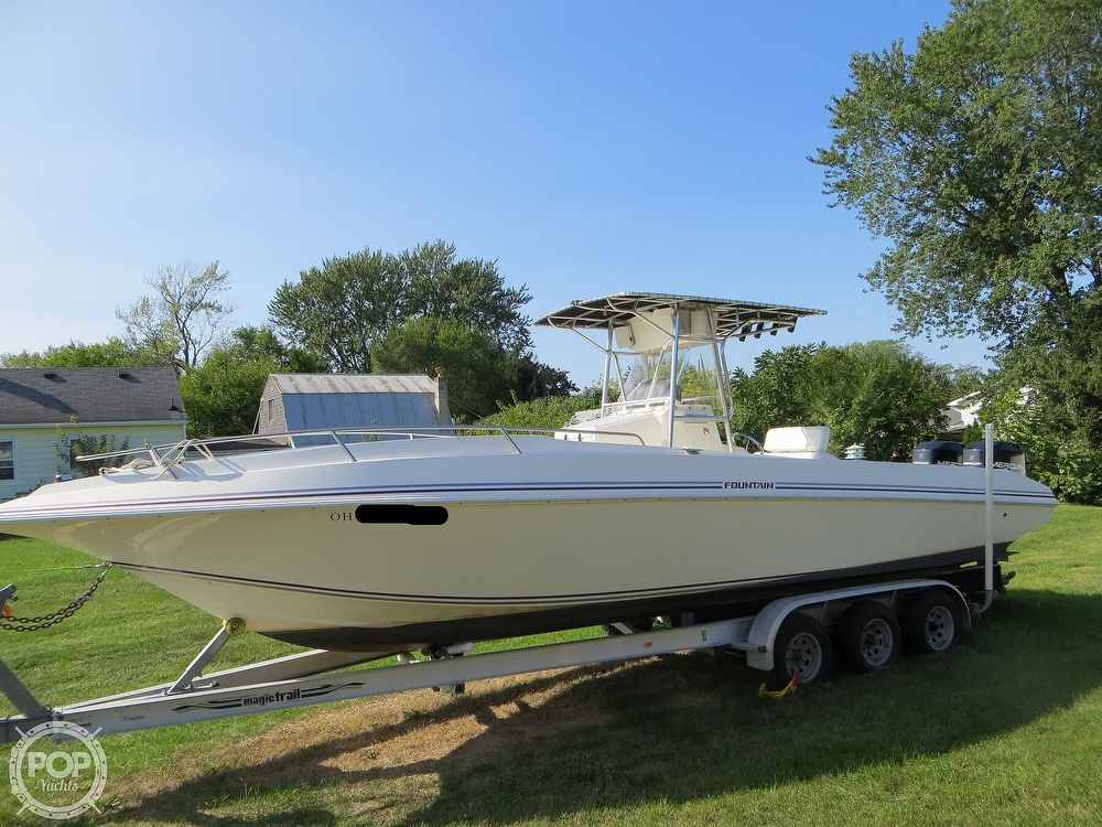 1996 Fountain boat for sale, model of the boat is 31 Center Console & Image # 20 of 40