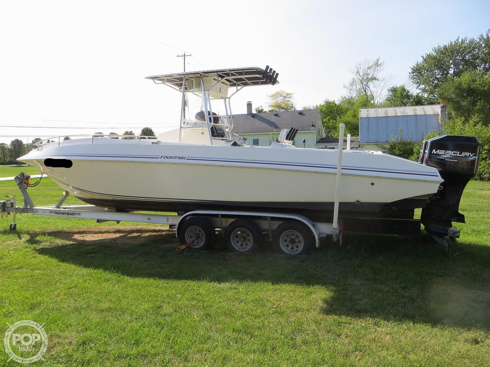 1996 Fountain boat for sale, model of the boat is 31 Center Console & Image # 21 of 40