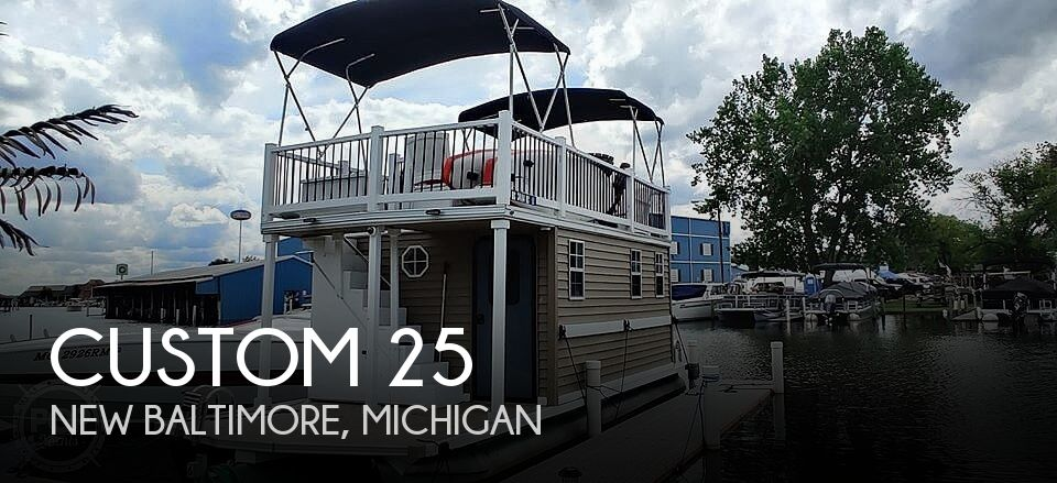 Used Custom Houseboats For Sale by owner | 1996 Custom 25
