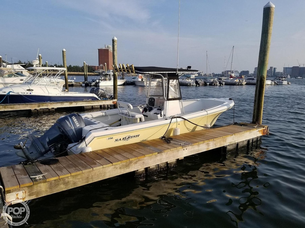 2003 Sailfish boat for sale, model of the boat is 236 & Image # 3 of 40