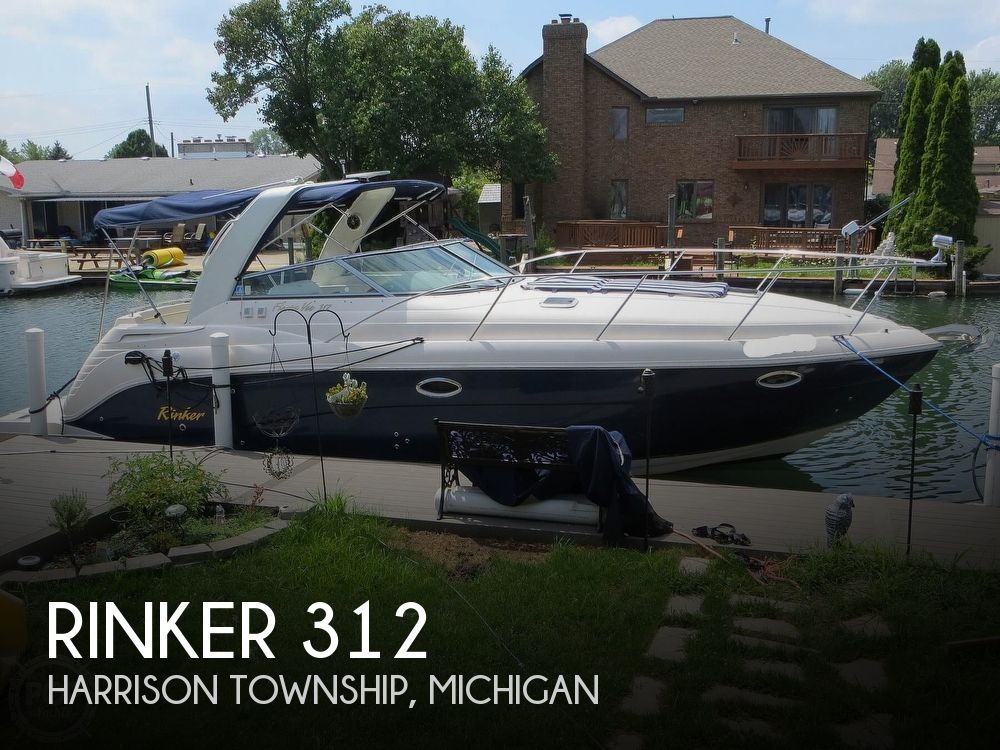 2003 Rinker boat for sale, model of the boat is 312 Fiesta Vee & Image # 1 of 40