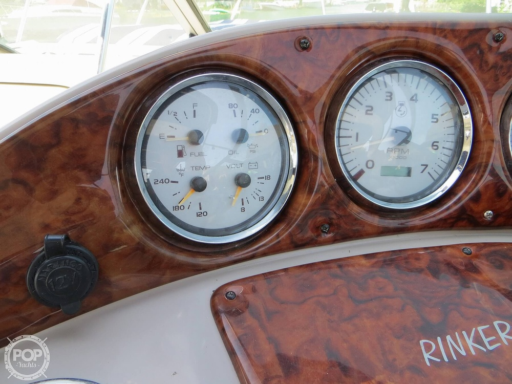 2003 Rinker boat for sale, model of the boat is 312 Fiesta Vee & Image # 29 of 40