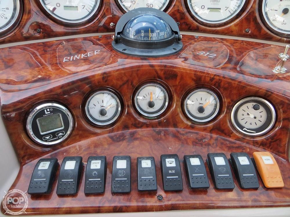 2003 Rinker boat for sale, model of the boat is 312 Fiesta Vee & Image # 32 of 40