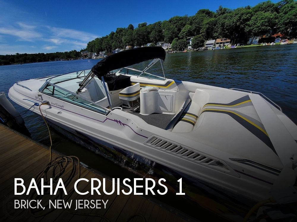 1996 Baha Cruisers boat for sale, model of the boat is Mach 1 340 Targa & Image # 1 of 40