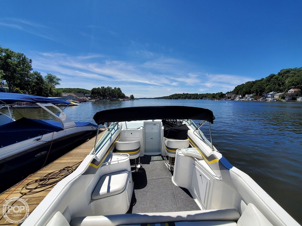 1996 Baha Cruisers boat for sale, model of the boat is Mach 1 340 Targa & Image # 18 of 40