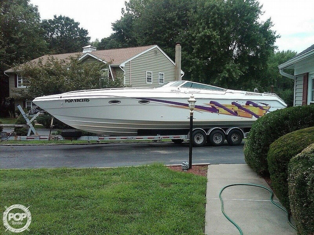 1996 Baha Cruisers boat for sale, model of the boat is Mach 1 340 Targa & Image # 7 of 40