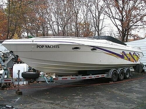 1996 Baha Cruisers boat for sale, model of the boat is Mach 1 340 Targa & Image # 2 of 40