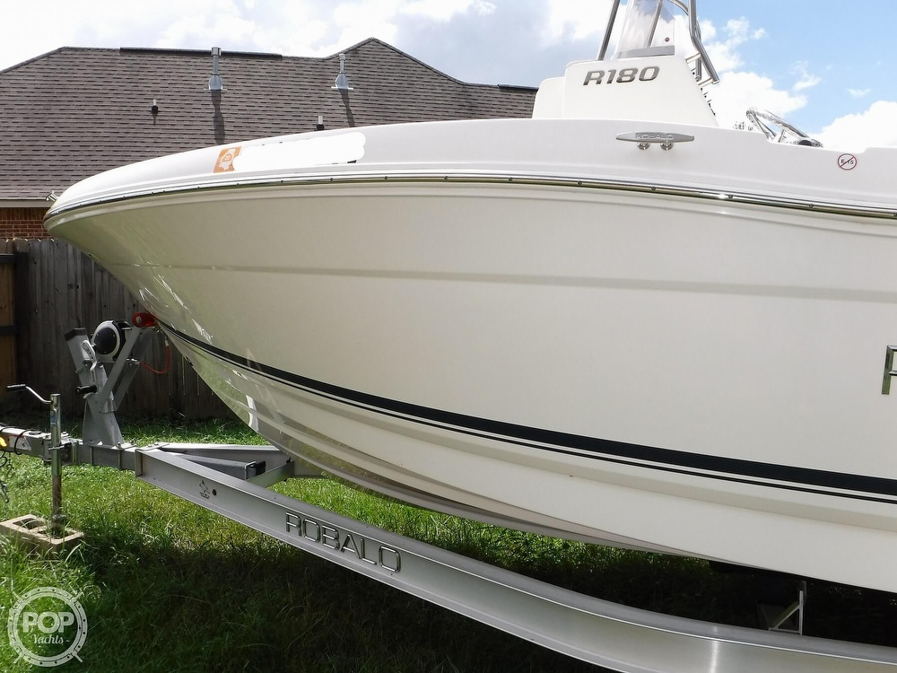 2018 Robalo boat for sale, model of the boat is R180 & Image # 30 of 40