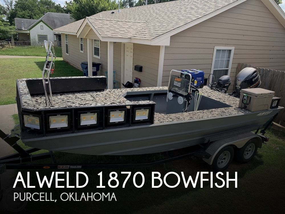 Used Boats For Sale in Oklahoma City, Oklahoma by owner | 2020 Alweld 1870 Bowfish