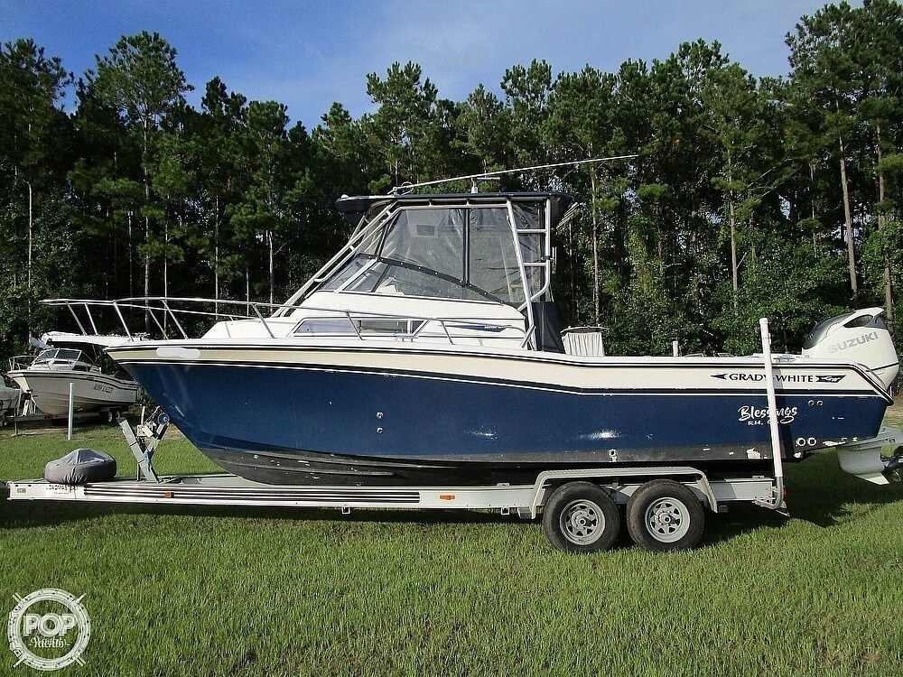 1995 Grady-White boat for sale, model of the boat is 26 Islander & Image # 7 of 40