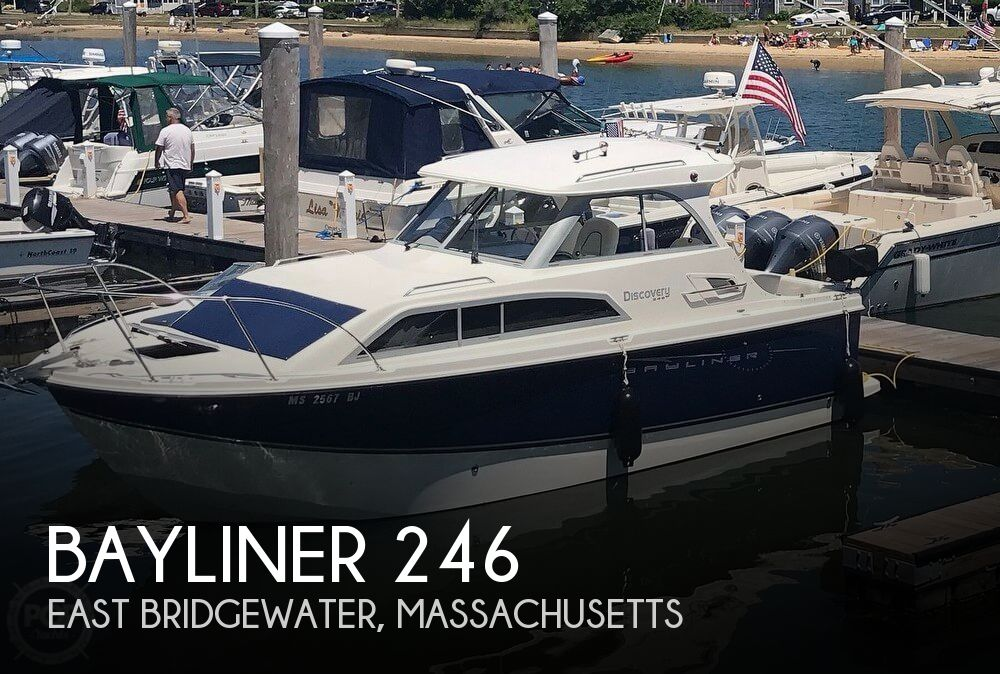 2008 Bayliner boat for sale, model of the boat is 246 & Image # 1 of 9