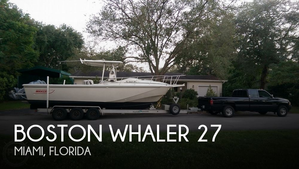 Used Boston Whaler 27 Boats For Sale by owner | 1988 Boston Whaler 27
