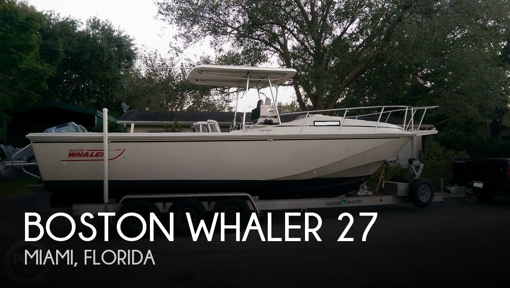 1988 BOSTON WHALER 27 CENTER CONSOLE CUDDY for sale