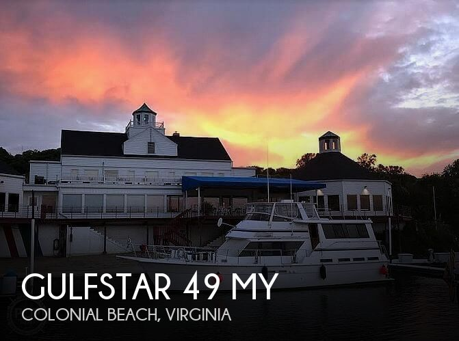 Used Boats For Sale in Virginia by owner | 1985 Gulfstar 49