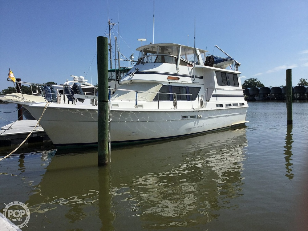 1985 Gulfstar boat for sale, model of the boat is 49 MY & Image # 2 of 40