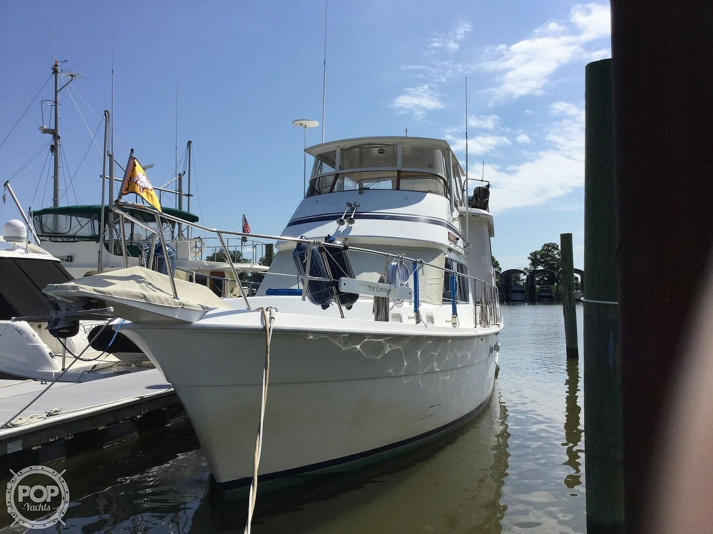 1985 Gulfstar boat for sale, model of the boat is 49 MY & Image # 3 of 40
