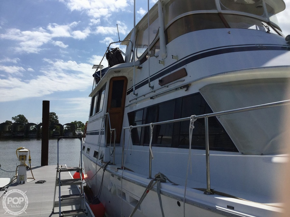 1985 Gulfstar boat for sale, model of the boat is 49 MY & Image # 5 of 40